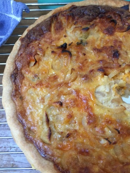 Onion tart for the onion stockpile